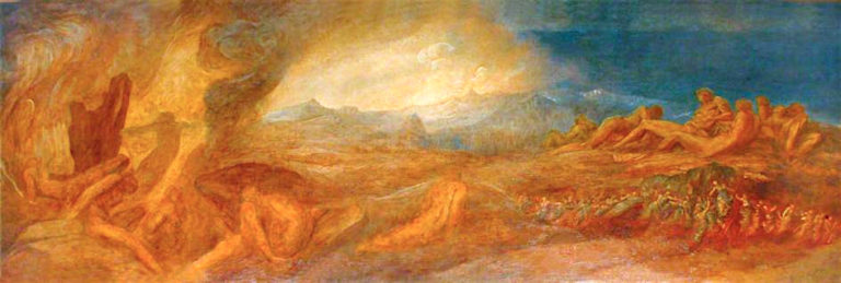 Chaos | George Frederic Watts | oil painting
