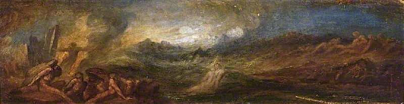 Chaos   George Frederic Watts   oil painting