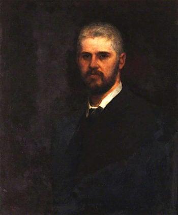 Claude Joseph Schmid Montefiore   George Frederic Watts   oil painting