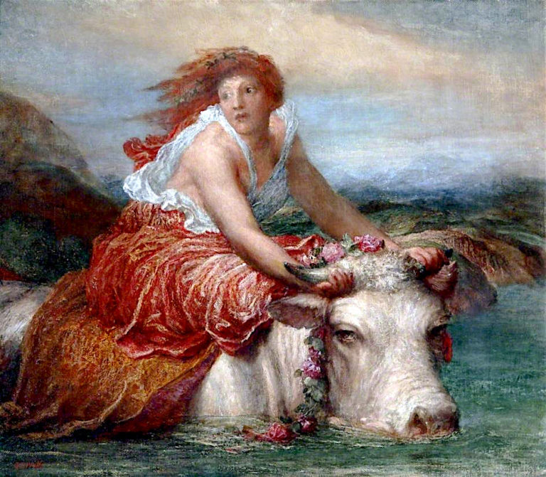 Europa | George Frederic Watts | oil painting