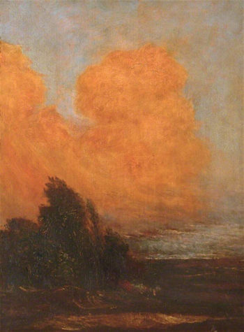 Evening Landscape | George Frederic Watts | oil painting