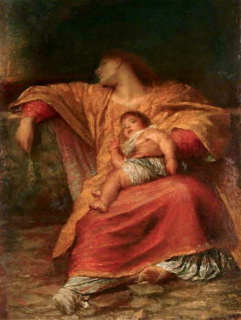 Peace and Goodwill | George Frederic Watts | oil painting