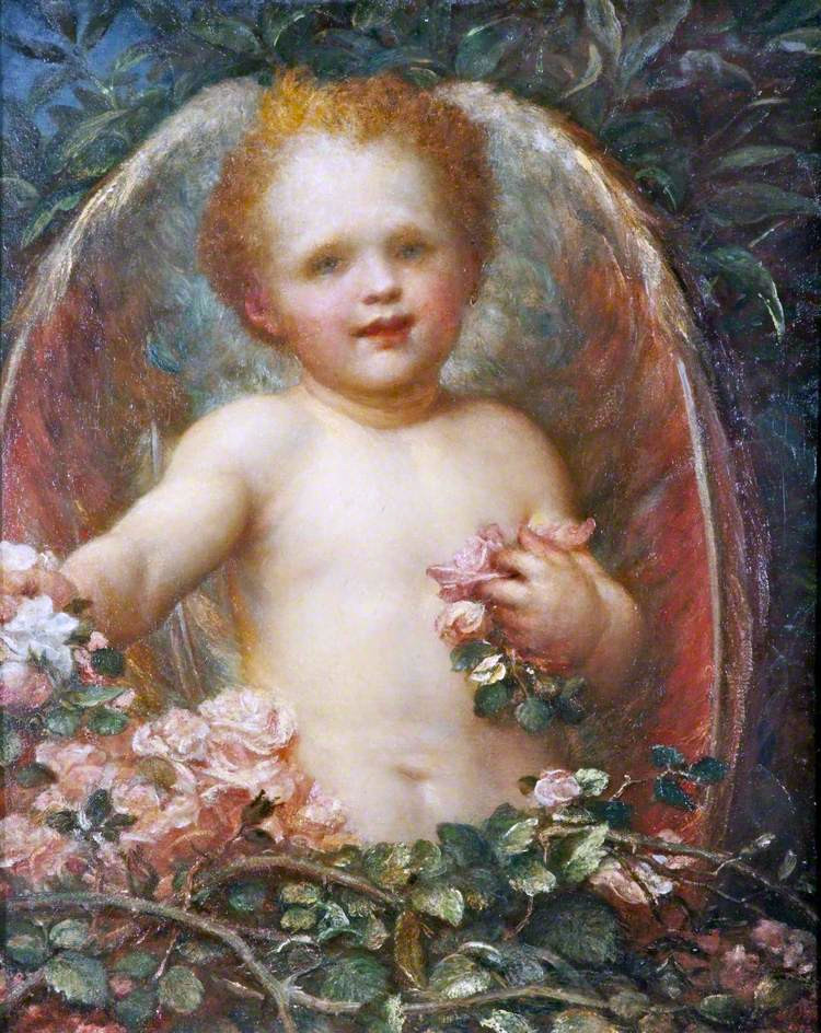 Promises | George Frederic Watts | oil painting