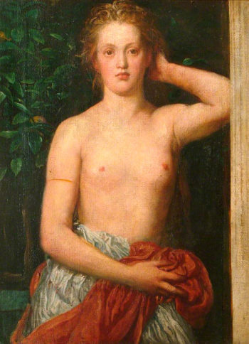 Rhodopis | George Frederic Watts | oil painting