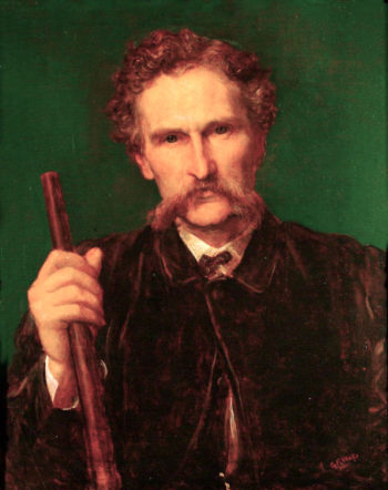 Rith H. Wallis - Dunlop | George Frederic Watts | oil painting