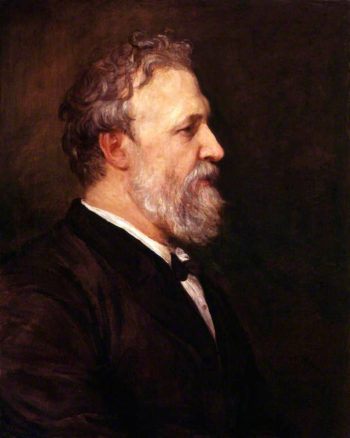 Robert Browning | George Frederic Watts | oil painting