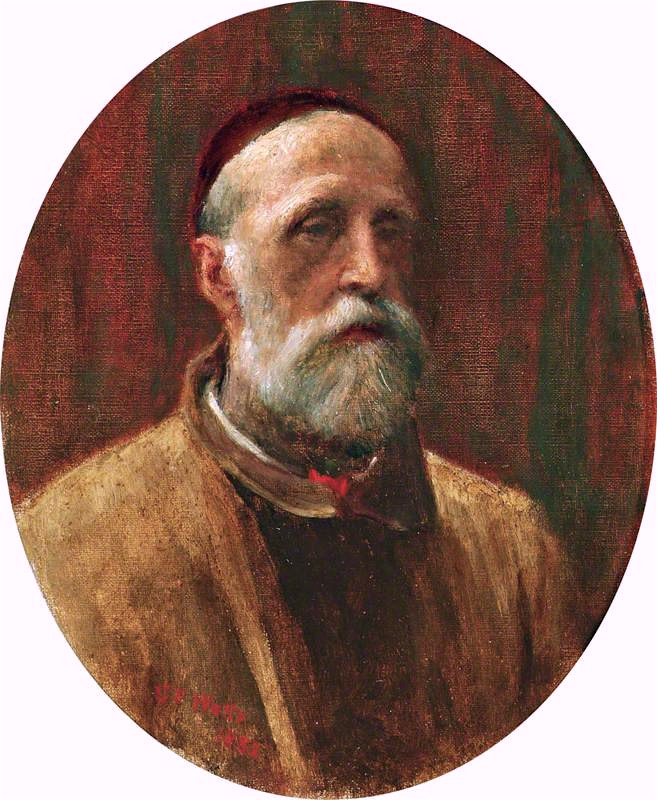 Self Portrait | George Frederic Watts | oil painting