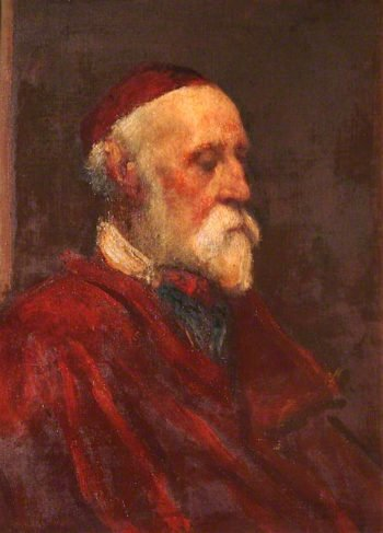 Self Portrait in Old Age | George Frederic Watts | oil painting