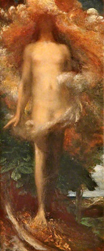 She Shall Be Created Woman | George Frederic Watts | oil painting