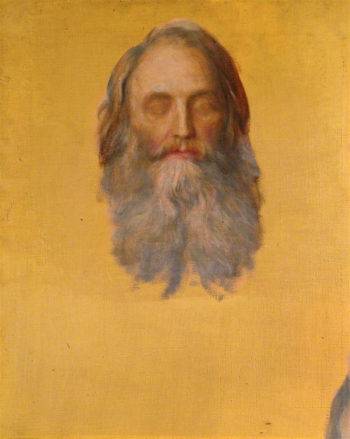 Sir Henry Taylor (unfinished) | George Frederic Watts | oil painting