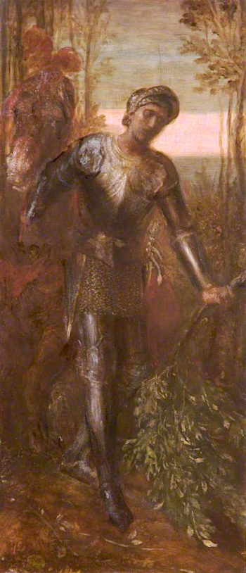 Sir Perceval | George Frederic Watts | oil painting