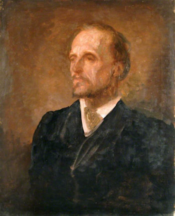 Sketch of Lord Dufferin | George Frederic Watts | oil painting