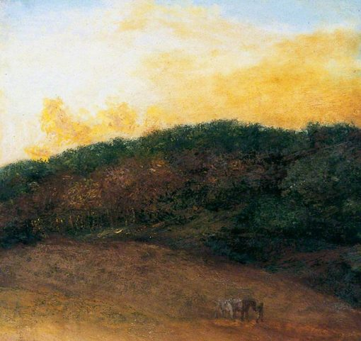 Surrey Landscape | George Frederic Watts | oil painting