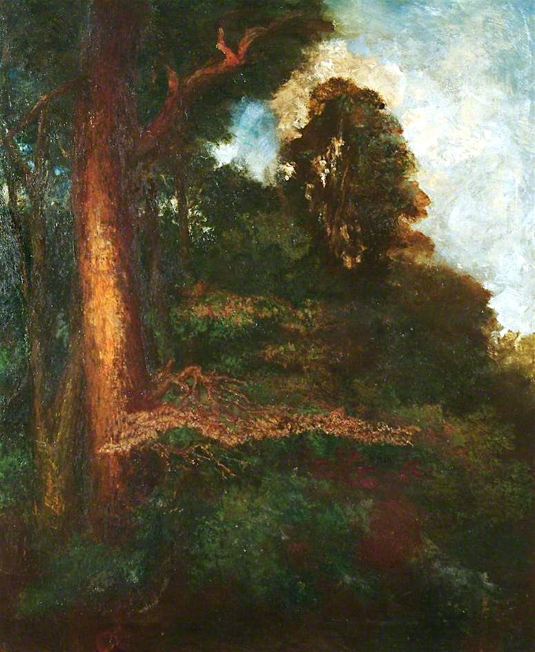 Surrey Woodland | George Frederic Watts | oil painting