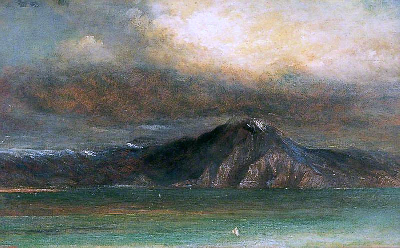 The Bay of Naples | George Frederic Watts | oil painting
