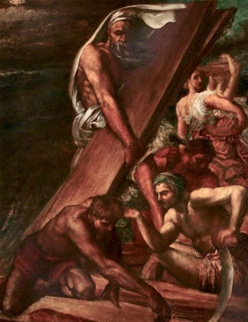 The Building of the Ark | George Frederic Watts | oil painting