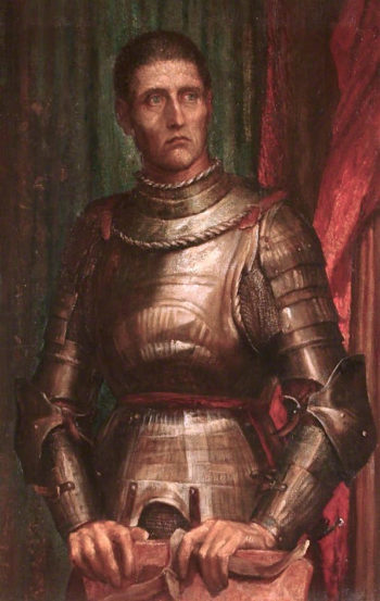 The Condottiere | George Frederic Watts | oil painting