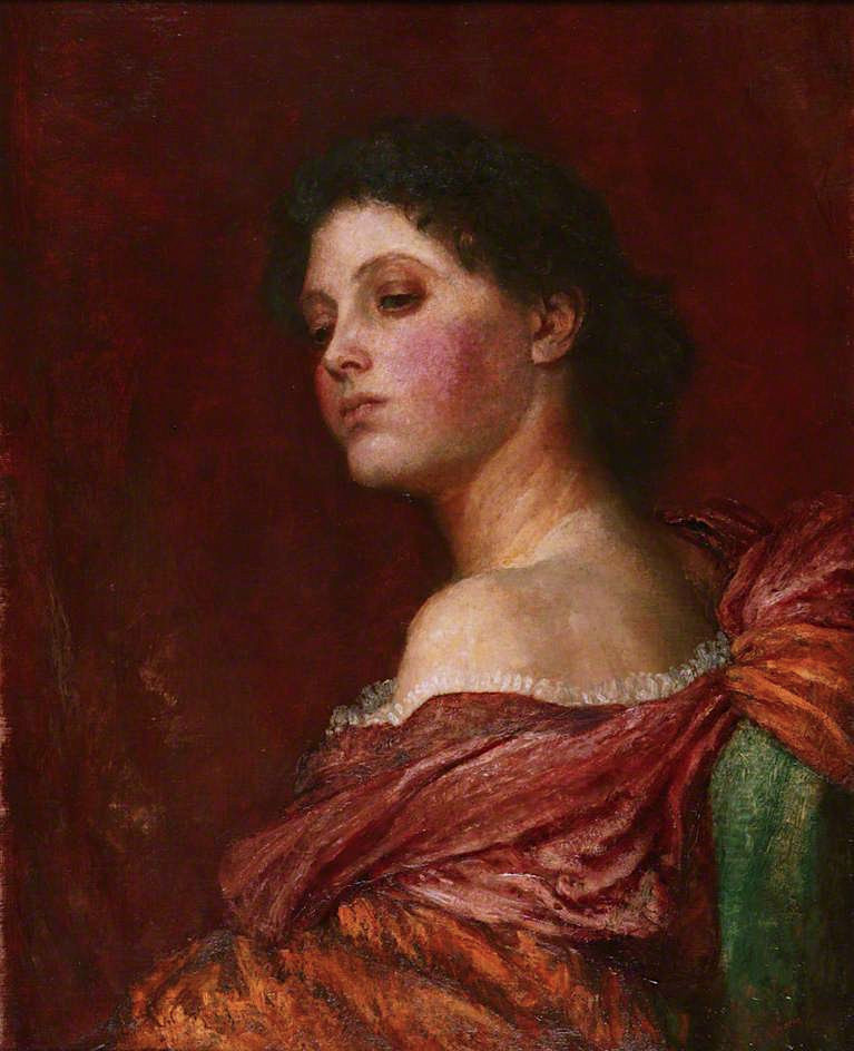 The Coquette | George Frederic Watts | oil painting