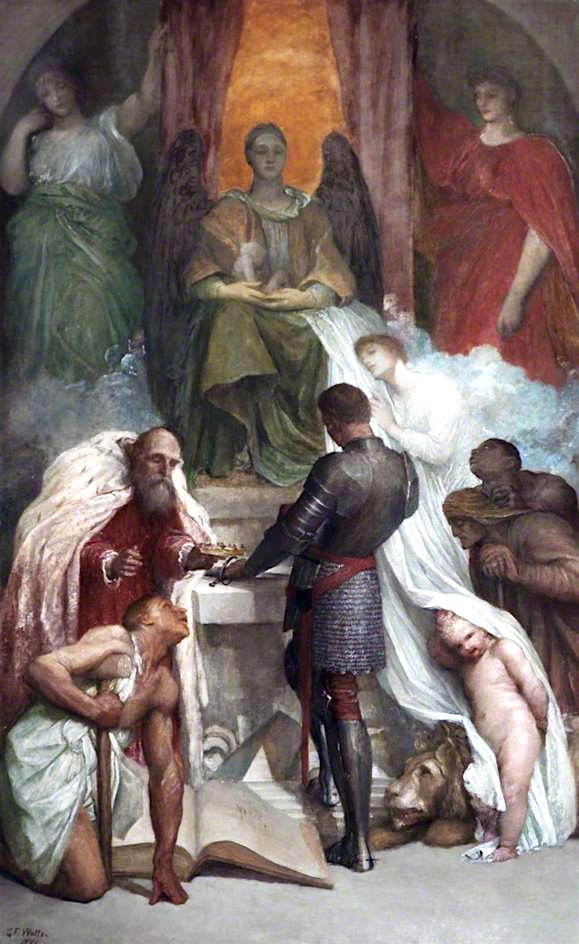 The Court of Death | George Frederic Watts | oil painting