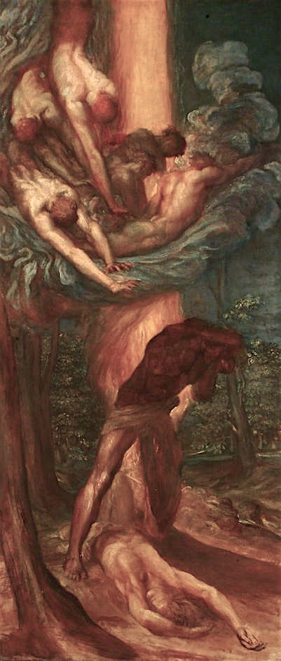 The Denunciation of Cain | George Frederic Watts | oil painting