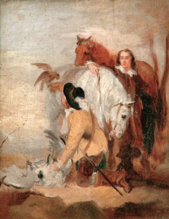 The Falconer | George Frederic Watts | oil painting