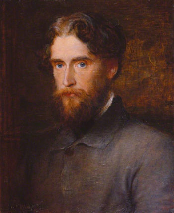 The Honourable John Lothrop Motley | George Frederic Watts | oil painting