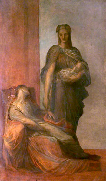 The Messenger | George Frederic Watts | oil painting
