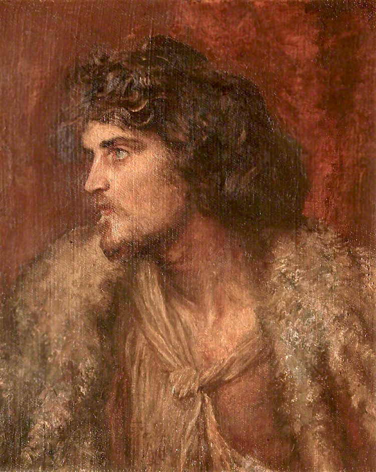 The Prodigal Son (bust - length figure) | George Frederic Watts | oil painting