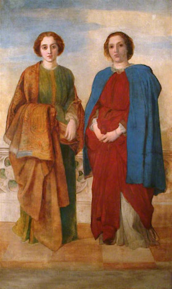 The Sisters | George Frederic Watts | oil painting