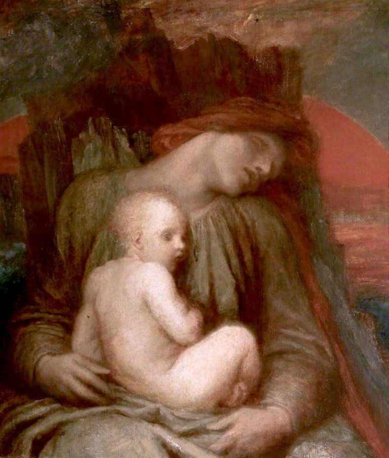The Slumber of the Ages | George Frederic Watts | oil painting