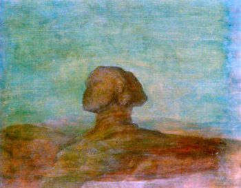 The Sphinx | George Frederic Watts | oil painting
