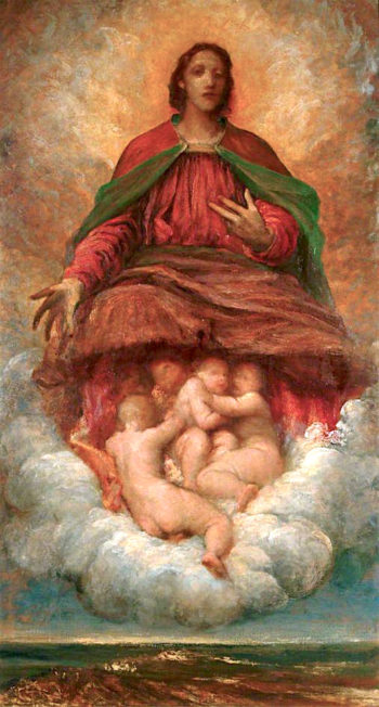 The Spirit of Christianity | George Frederic Watts | oil painting