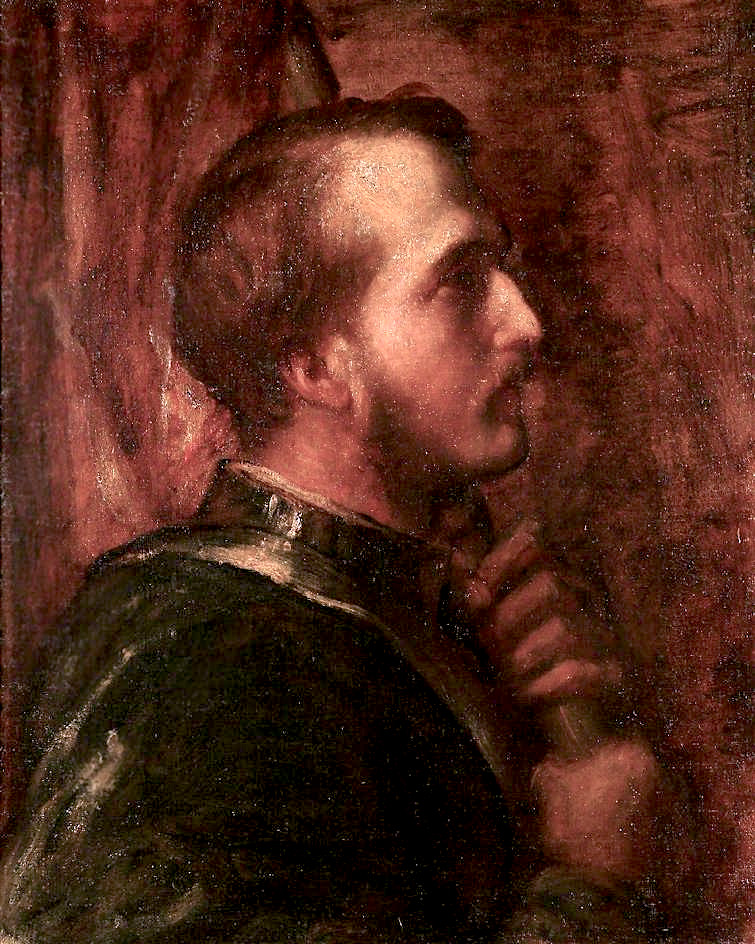 The Standard - Bearer | George Frederic Watts | oil painting