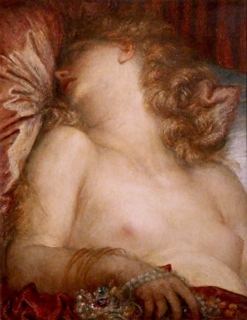 The Wife of Plutus | George Frederic Watts | oil painting