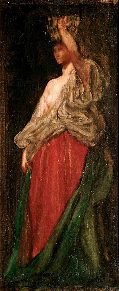 The Wine - Bearer   George Frederic Watts   oil painting