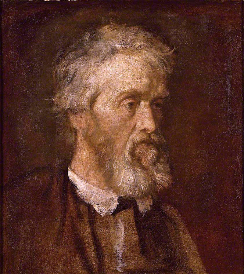 Thomas Carlyle | George Frederic Watts | oil painting