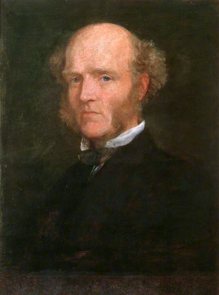 Thomas Hughes | George Frederic Watts | oil painting