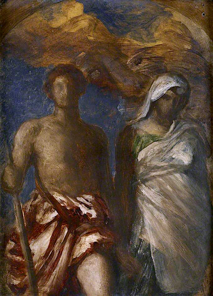 Time and Death | George Frederic Watts | oil painting