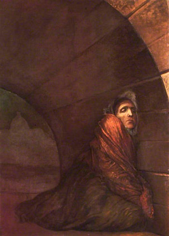 Under the Dry Arch | George Frederic Watts | oil painting