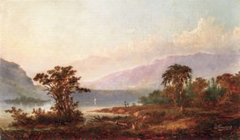 Hudson River View | Alexander Francois Loemans | oil painting