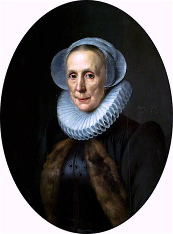 Maria van Wassenaer Hanecops | Michiel Jansz. van Mierevelt | oil painting