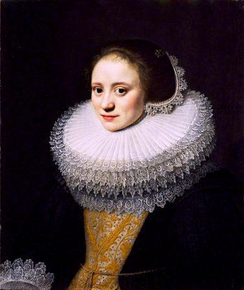 Portrait of a Lady | Michiel Jansz. van Mierevelt | oil painting
