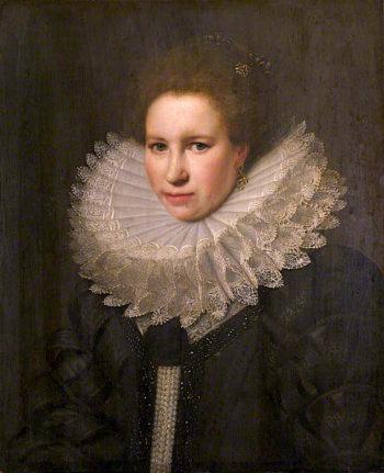 Portrait of a Woman | Michiel Jansz. van Mierevelt | oil painting