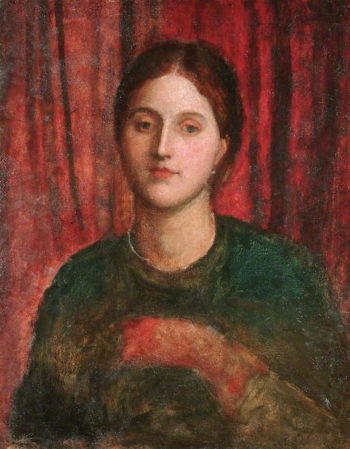 Unknown Portrait | George Frederic Watts | oil painting