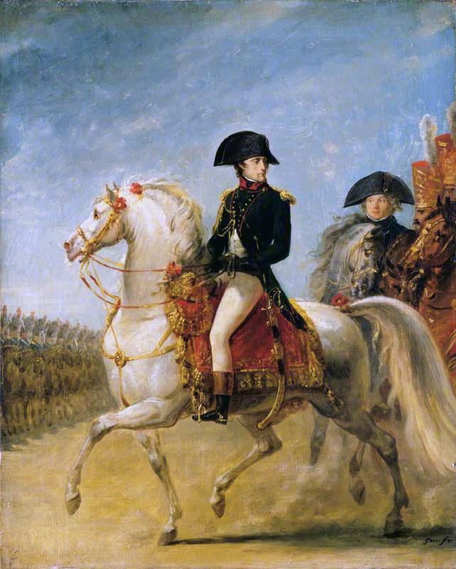 General Bonaparte Reviewing Troops | Antoine-Jean Gros | oil painting