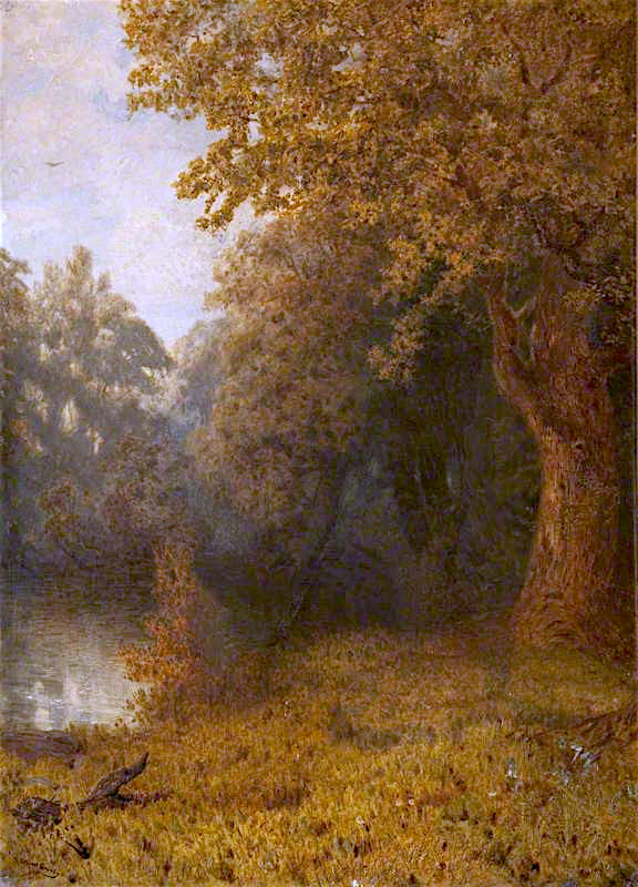 Autumn | Cuthbert Cartwright Grundy | oil painting