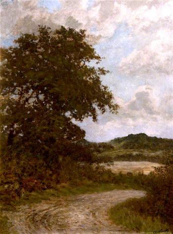 Coming Rain   Cuthbert Cartwright Grundy   oil painting