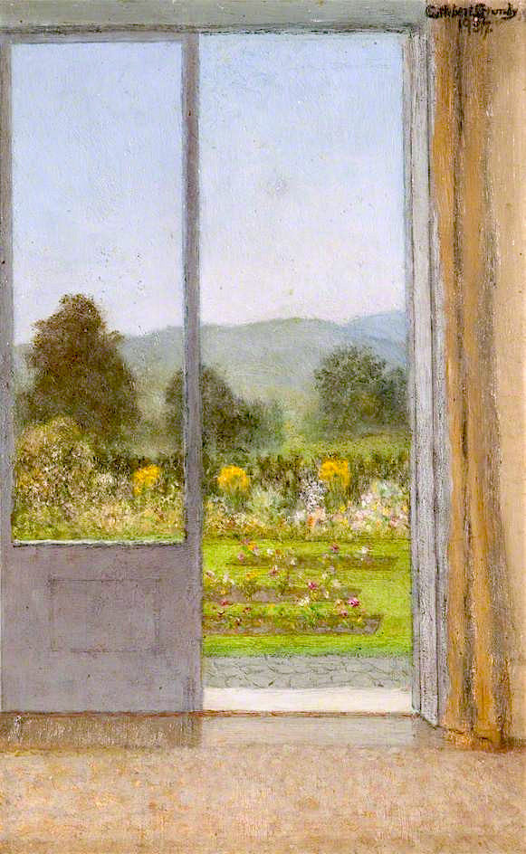 View from My Window | Cuthbert Cartwright Grundy | oil painting