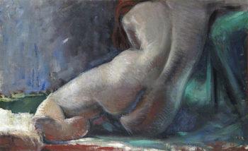 Reclining Nude | David William Gunn | oil painting
