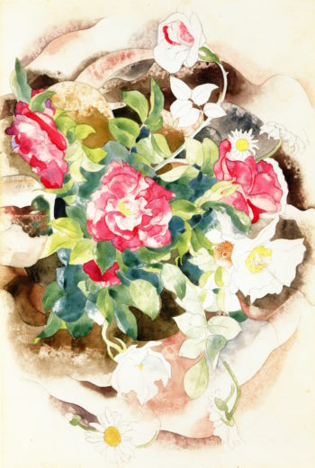 Roses | Charles Demuth | oil painting